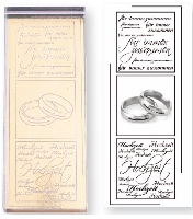 Artoz, Stempel Wedding rings