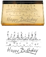 Artoz, Stempel Happy Birthday