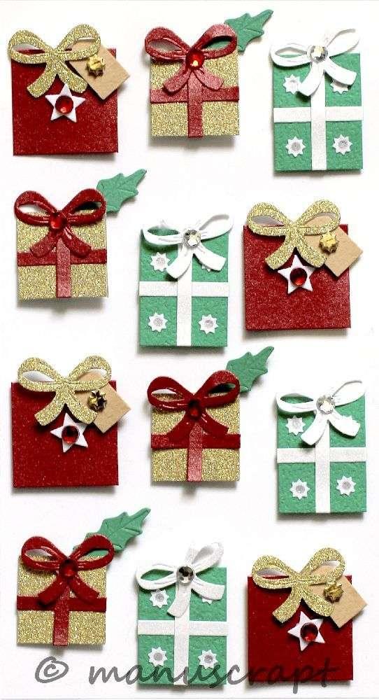 Artwork Sticker, Weihnachtsgeschenke Tradition - ManuscrApt